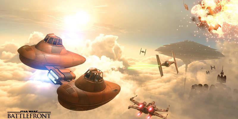 Star Wars Battlefront Death Star expansion detailed, offline