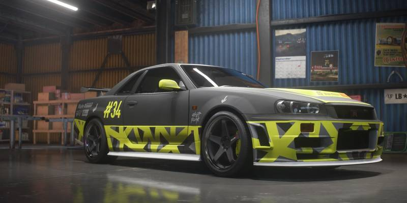 need for speed payback build of the week 1999 nissan skyline gt r v spec ar12gaming. Black Bedroom Furniture Sets. Home Design Ideas