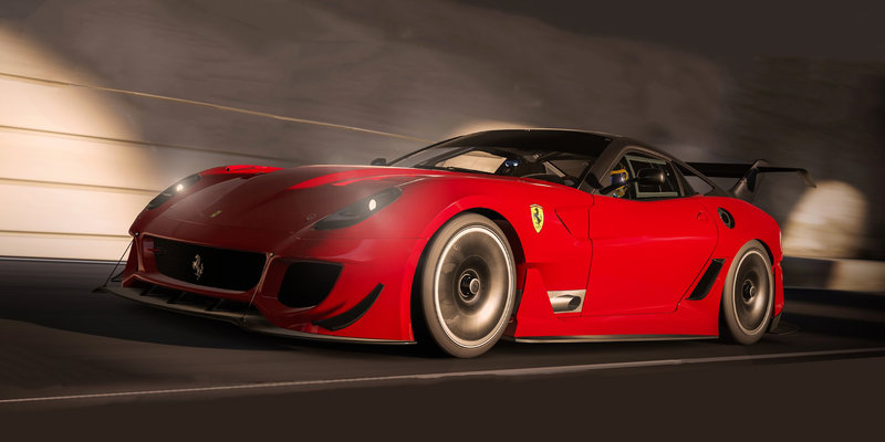 It S Ferrari February In Forza Motorsport 7 As 599xx Evo And Gtc4lusso Hit The Track Ar12gaming