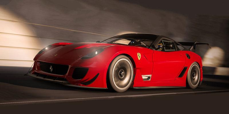 It's Ferrari February in Forza Motorsport 7 as 599XX Evo and