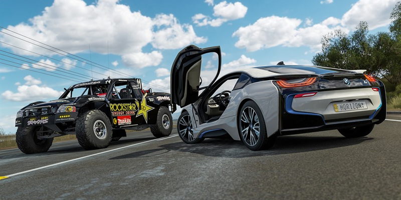 Forza Horizon 3 S January 2017 Car Pack Features Bmw I8 And Ford F