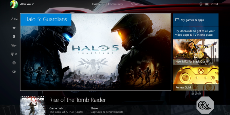 Xbox One Summer Update with Cortana and Background Music now