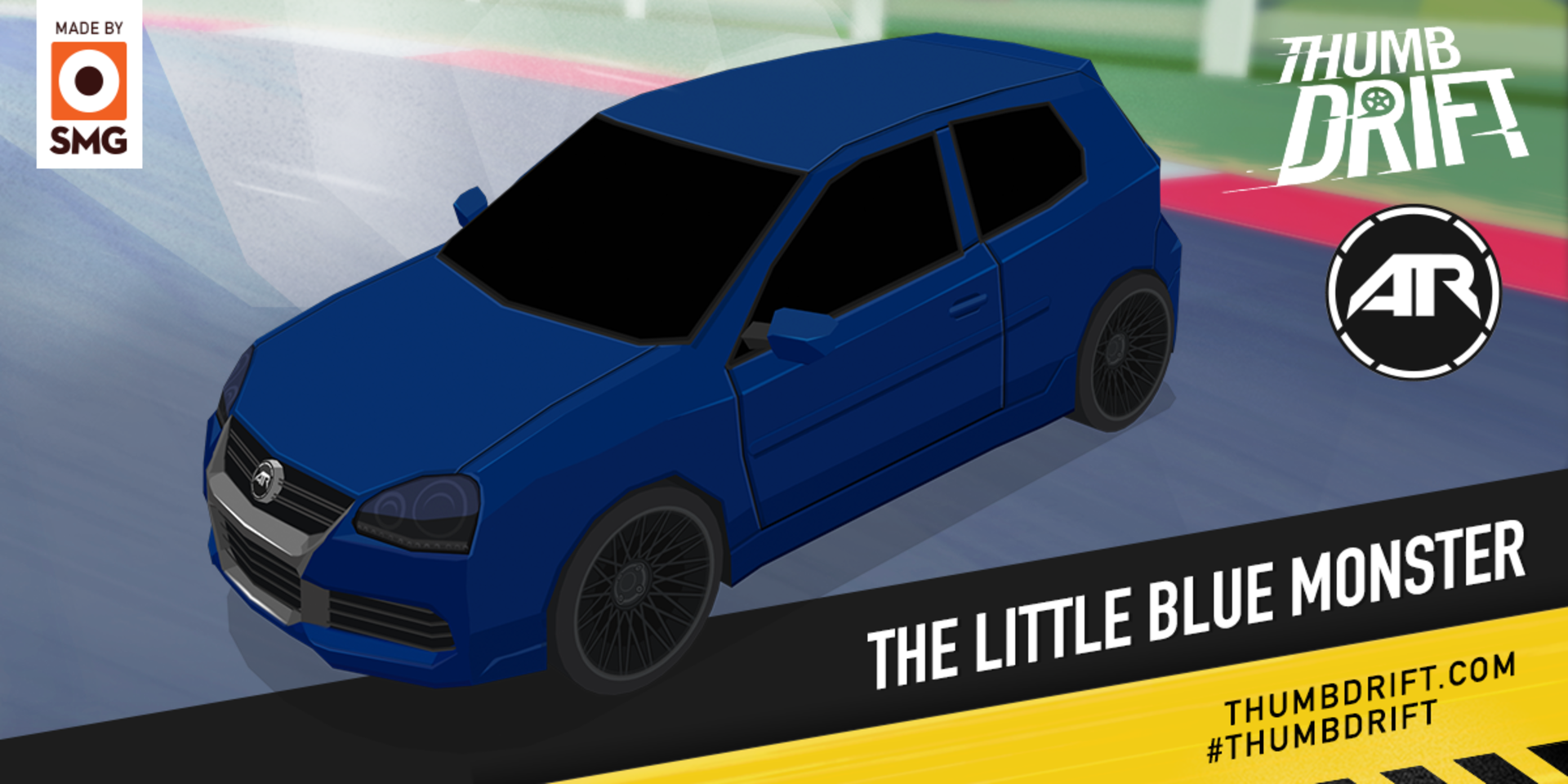 Thumb Drift S Latest Update Adds S Little Blue Monster