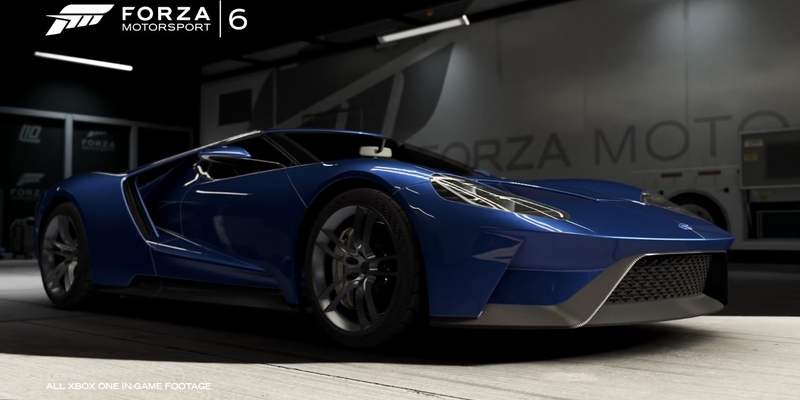 These Are The Cars Headlining Forza Motorsport 6
