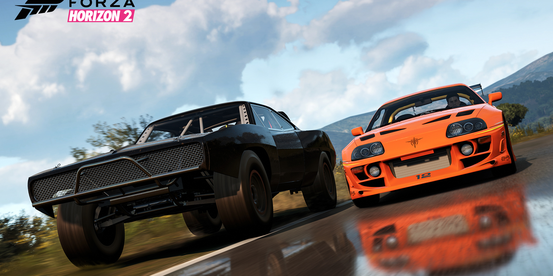 forza horizon 2 receives a second fast and furious car. Black Bedroom Furniture Sets. Home Design Ideas