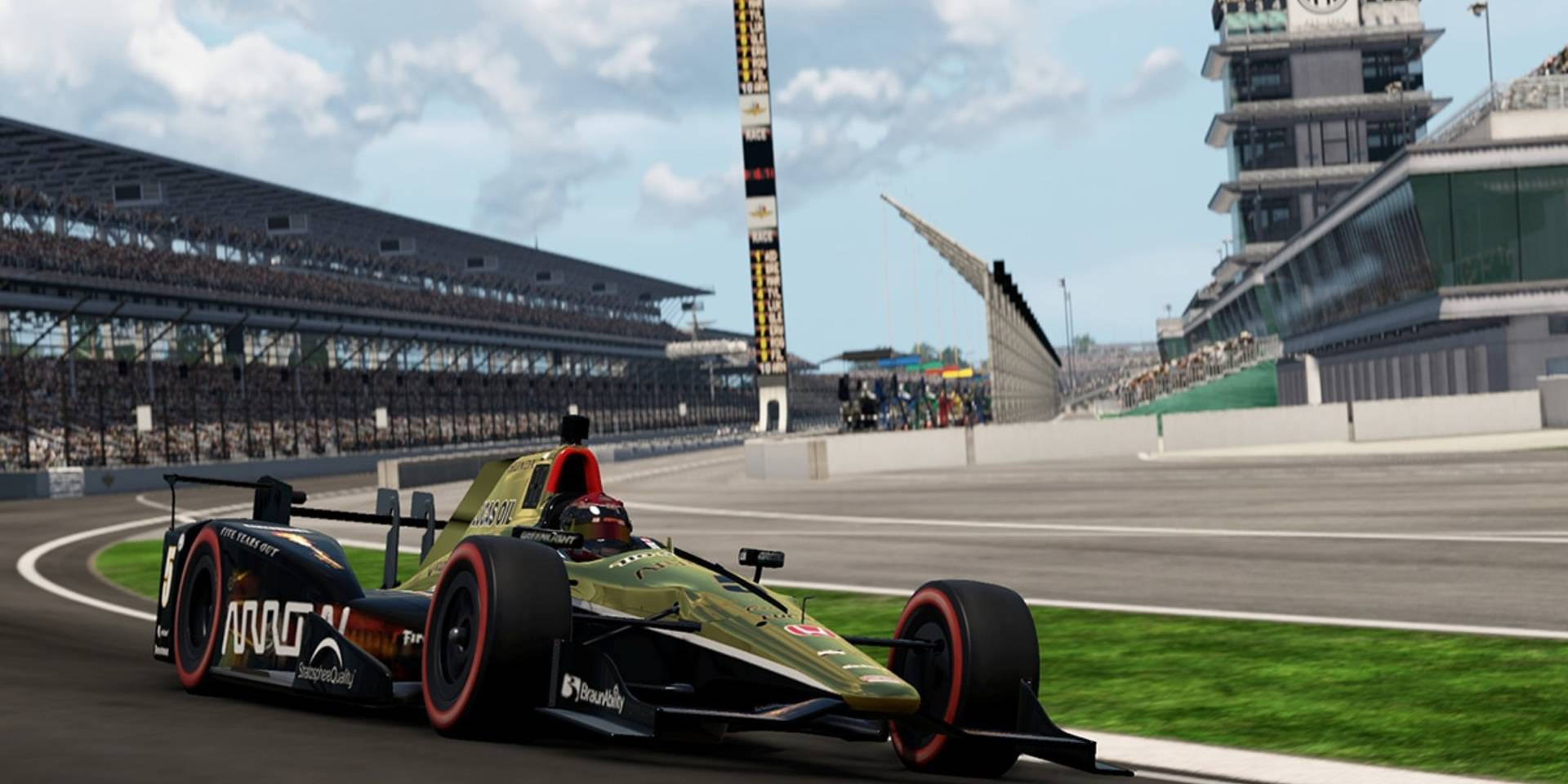 Project CARS 2 Gets IndyCar Treatment