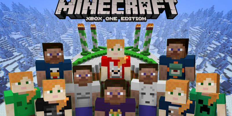 Minecraft On Xbox Receives Fourth Birthday Skin Pack ARGaming - Skins para minecraft descargar gratis