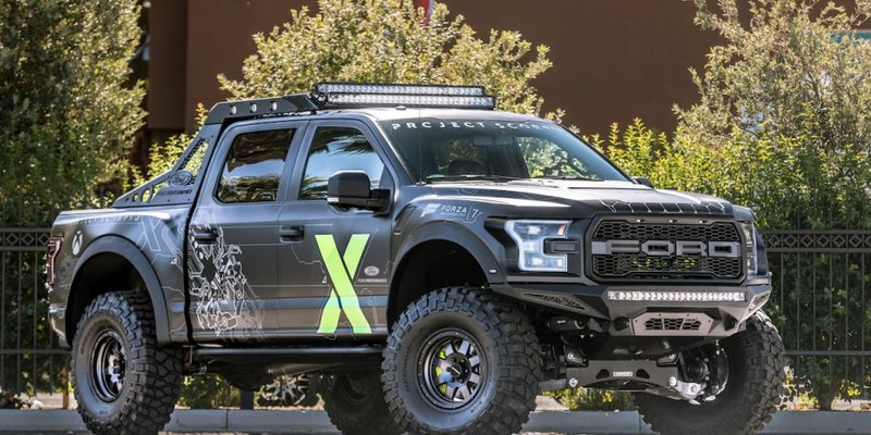 xbox and ford performance work together to build a custom ford f-150