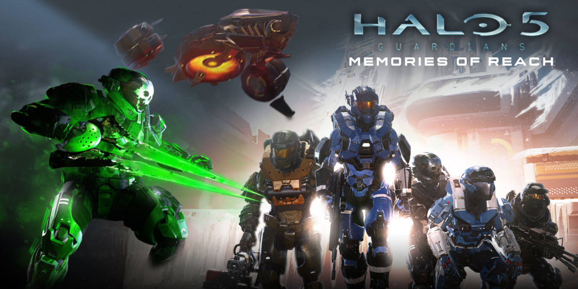 Memories of Reach expansion now available for Halo 5