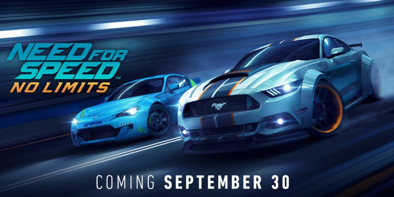 Need For Speed No Limits Launches September 30th Globally On Ios