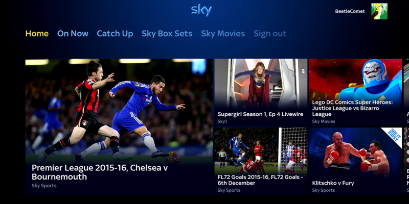 Sky TV app finally available on Xbox One in the UK and