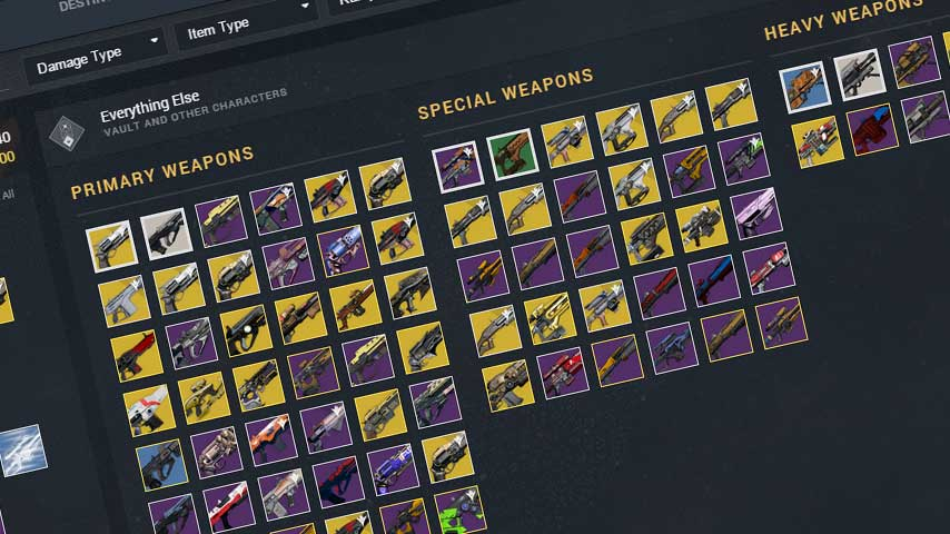 New Destiny companion app update features a number of tweaks
