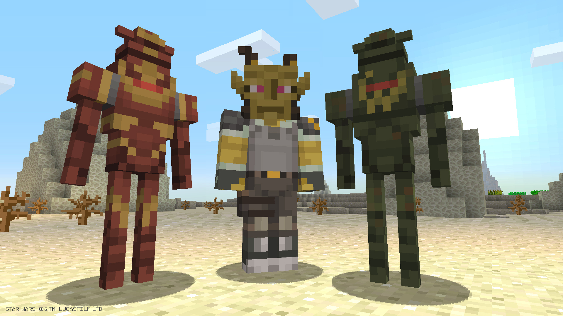 Star Wars Prequel Skins Come To Minecraft Ar12gaming